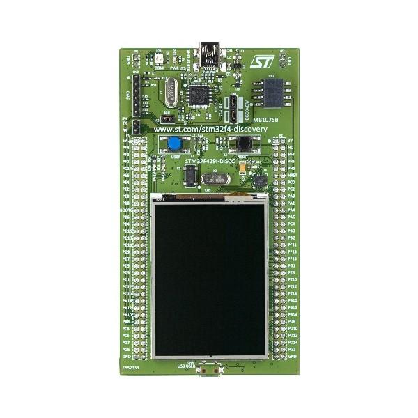 برد stm32f429 discovery با سرعت 180 مگاهرتز/ویدئو پلیر/برنامه نویسی با سی شارپ