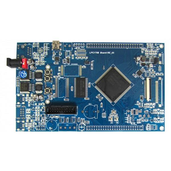 مینی برد کاربردی  LPC1788 با ساپورت tft 3.6 تا 7.0 اینچ 40 پین/ و emwin پورت شده