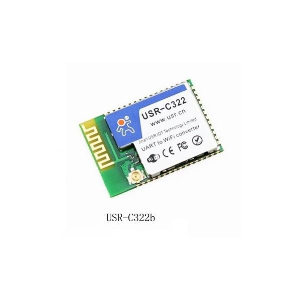ماژول USR-C322/ ماژول تبدیل Serial UART to WIFI با آنتن خارجی کم مصرف