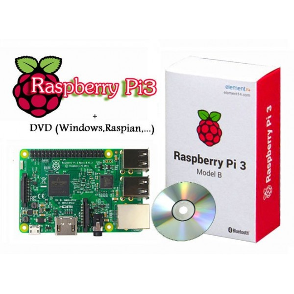 Raspberry PI 3 model B made in PRC