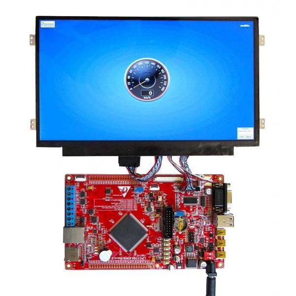 برد کاربردی و حرفه ای LPC1788 با ساپورت tft 3.6 تا 10.1 اینچ 40 پین و50 پین و LED10.1 اینچ/ و emwin پورت شده(فول ) ورژن 5 جدید