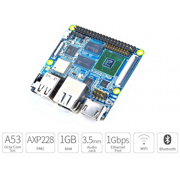 Friendly ARM Nano Pi M3 1GB RAM-کویرالکترونیک