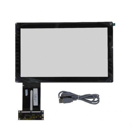 تاچ اسکرین خازنی 11.6 اینچ/اتصال به usb/بدون نیاز به درایور -کویرالکترونیک