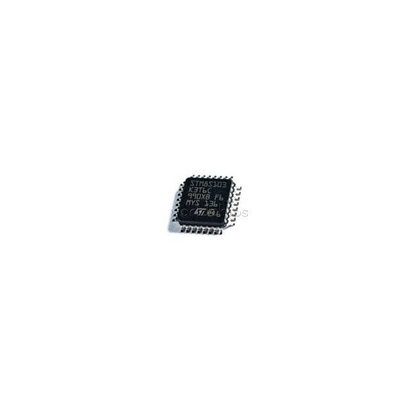میکروکنترلر STM8S103K3T3C  8 Bit Microcontroller, Access Line, STM8S1xx, 16 MHz, 8 KB, 1 KB, 32 Pins, LQFP صد درصد اورجینال
