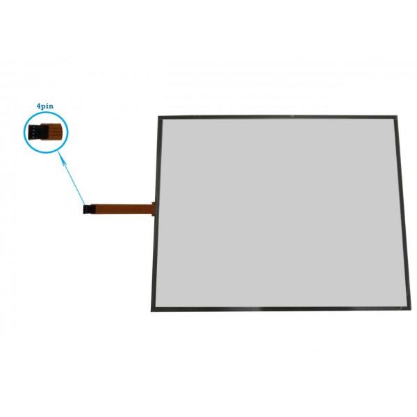 تاچ مقاومتی 15.0 اینچ/ 4 پین touch screen
