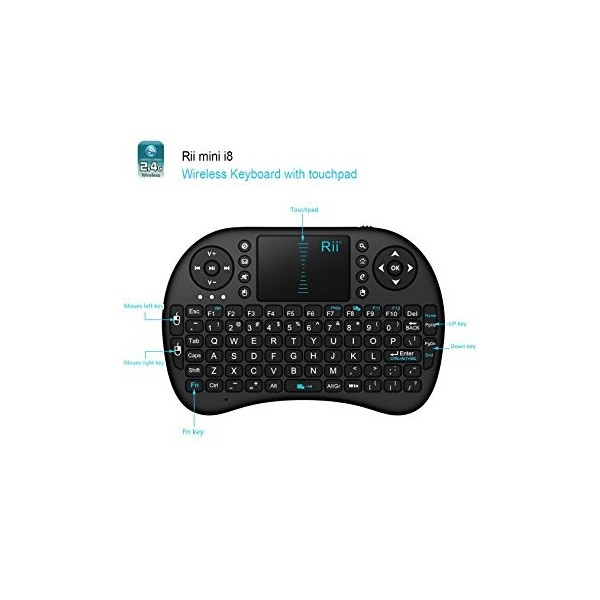 کیبورد بیسیم-2.4G mini Wireless Keyboard