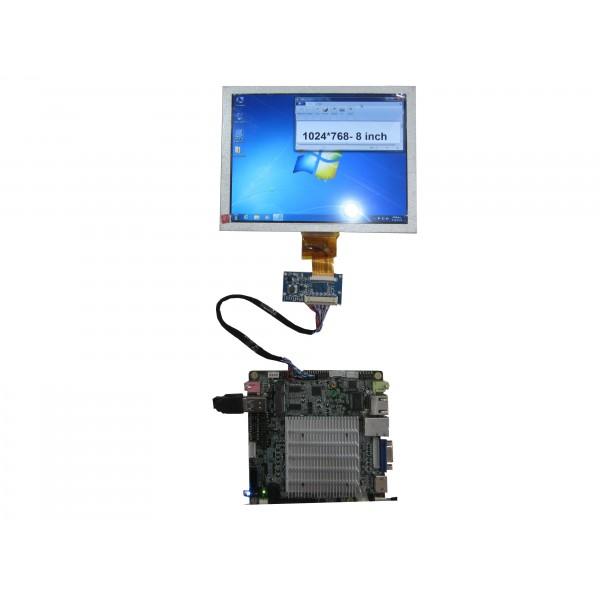برد تبدیل LVDS به LVDS40pin
