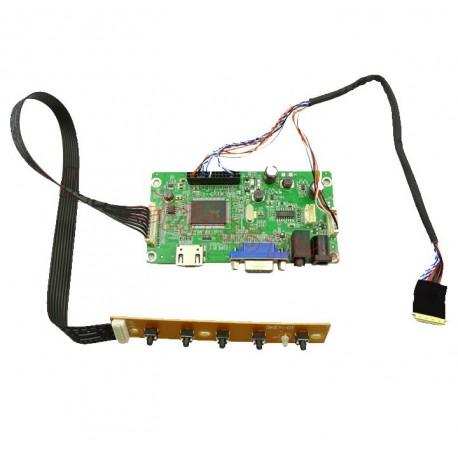 برد EDP با ورودی  HDMI,VGA مخصوص  پنل  30PIN