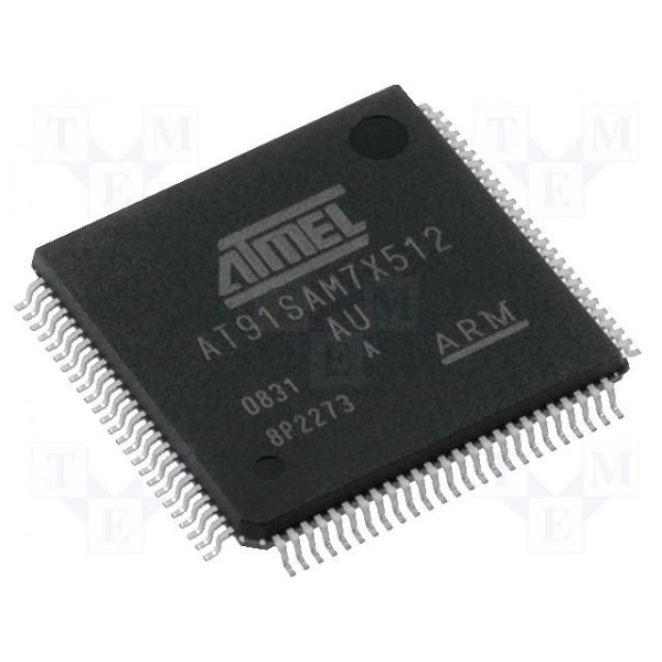 at91sam7x512-au .NET MICRO ATMEL ARM کویرالکترونیک