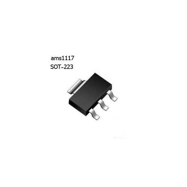 ams1117-1.5رگولاتور 1.5 ولت اورجینال