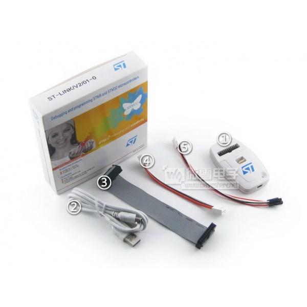 ST-LINK V2For STM8 STM32 Debugger ,Programmer, st link کفیت بالا و قابلیت اپدیت