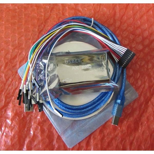 usbee AX pro Enhanced virtual oscilloscope logic analyzer I2C SPI CAN uart