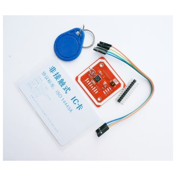 ماژول PN532 NFC RFID V3 با تگ و کارت رایگان -کویرالکترونیک