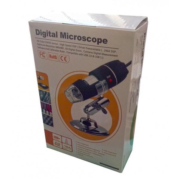 میکروسکوپ دیجیتال 500X USB Digital Microscope کیفیت بالا