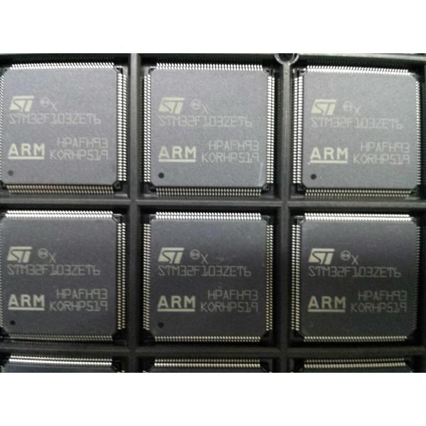 میکروکنترلر 100 درصد اورجینال STM32F103ZET- کویرالکترونیک