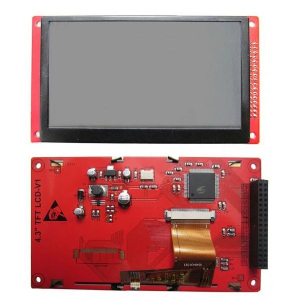 برد آموزشی/ کاربردی LPC1768 LCD4.3inch-کویرالکترونیک