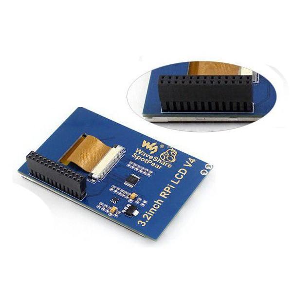 نمایشگر 3.2 اینچ مخصوص Raspberry Pi2 برای B وB+-کویرالکترونیک