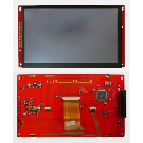 درایور برد 7.0 اینچ با فریم و آیسی SSD1963- کویرالکترونیک