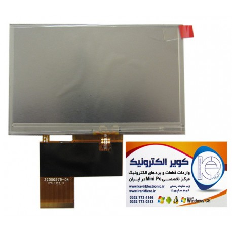 LCD 4.3 inch Original innolux Module AT043TN V.7 whit Touch-کویرالکترونیک