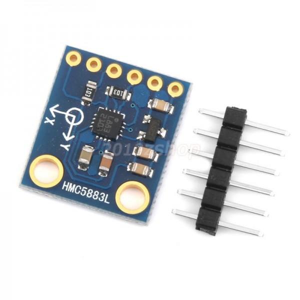 ماژول قطب نما HMC5883L کویرالکترونیک