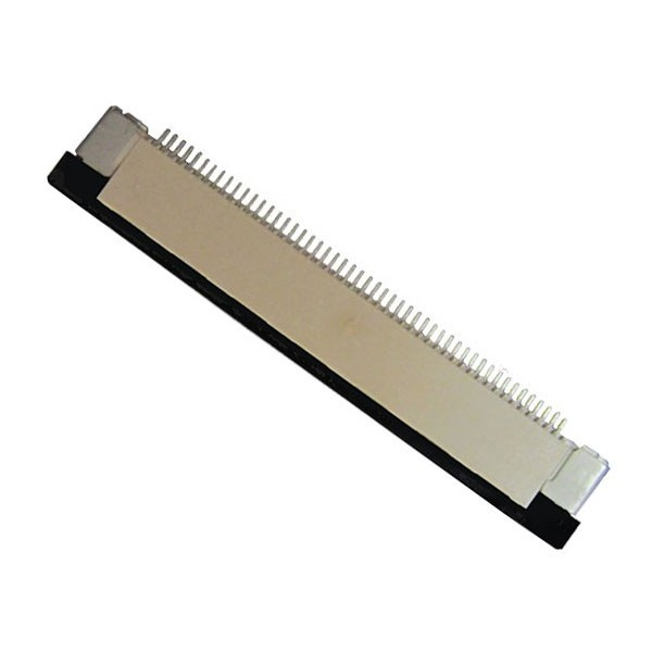 کانکتور FPC 50 Pin, top connect محصول کویر الکترونیک