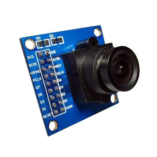 دوربین با قابلیت اتصال به میکروکنترلرها ov7670 -کویرالکترونیک