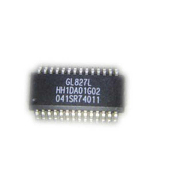 USB 2.0 Single Slot SD/MMC/MS Card Reader Controller-GL827L