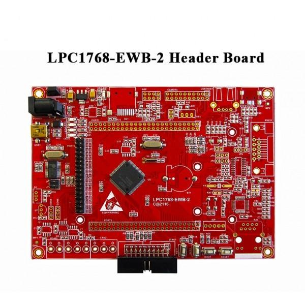 EWB_LPC1768-Header برد آموزش LPC1768- کویر الکترونیک