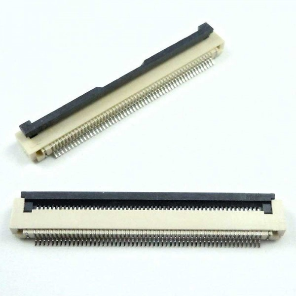 کانکتور FPC 54  پین 0.5mm اهرمی کویرالکترونیک