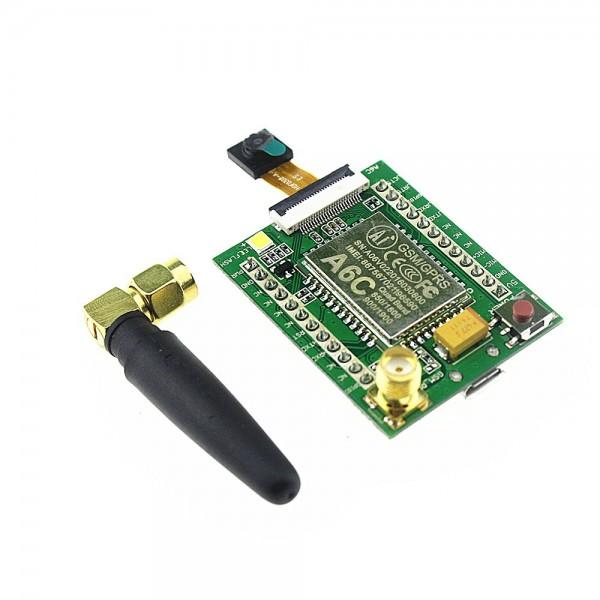 ماژول GPRS GSM A6C + برد + دوربین + آنتن