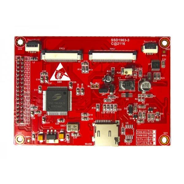 درایور برد TFT های رنگی 40 پین و 50 پین(با SSD1963)- کویر الکترونیک