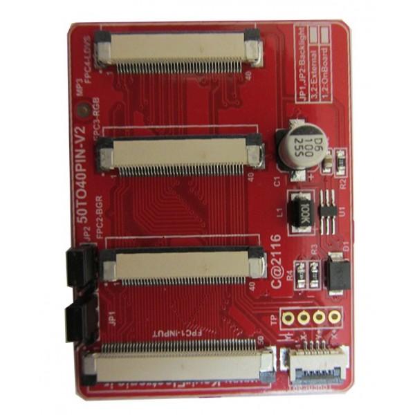 تبدیل 50To40PIN_V2 کویرالکترونیک