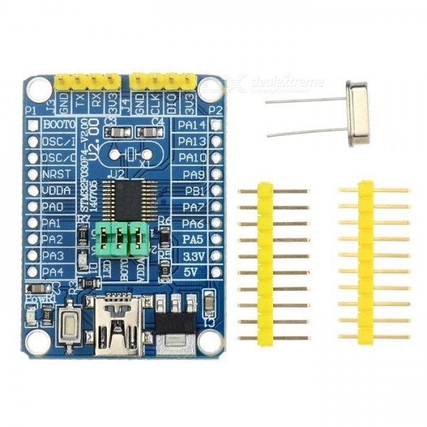 برد مینی STM32F030F4P6 کرتکس /mini Stm32 cortex-m0-کویرالکترونیک