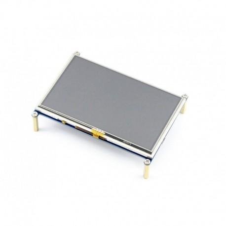 LCD 7 inch 800*480 + USB Capacitive touch-کویر الکترونیک