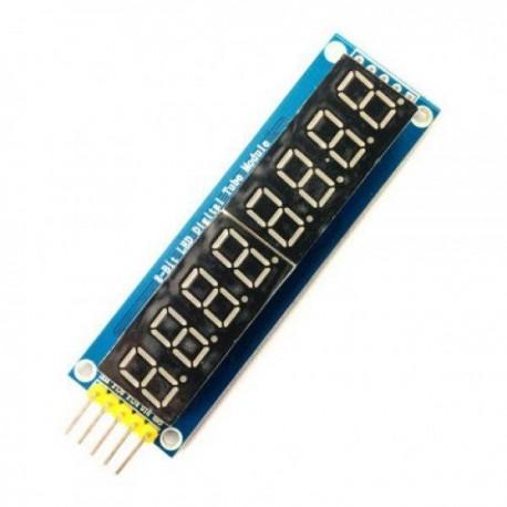 ماژول 7segment هشت رقمیMAX7219 8-digit LED display module - کویرالکترونیک