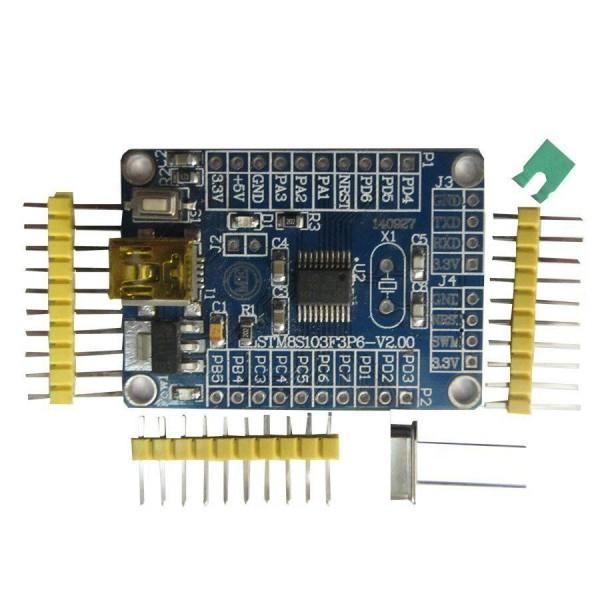 برد STM8S103F3P6 Board -کویرالکترونیک