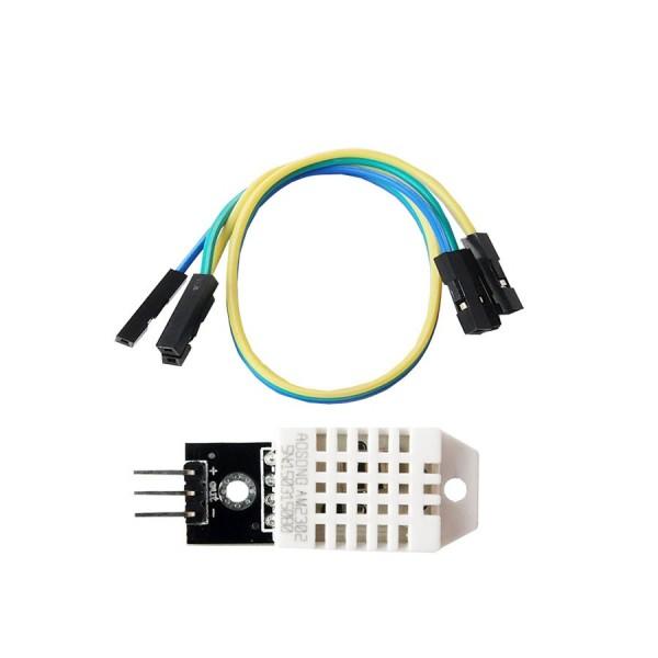 سنسور دما DHT11 مخصوص رزبری - کویرالکترونیک