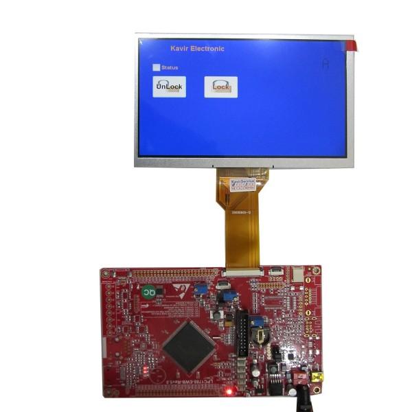 هدر برد کاربردی و حرفه ای LPC1788 با ساپورت tft 3.6 تا 10.1 اینچ 40 پین و50 پین و LED10.1 اینچ/ و emwin پورت شده ورژن 5 جدید