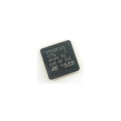 میکروکنترلر stm32f105vct6 /اورجینال - کویرالکترونیک