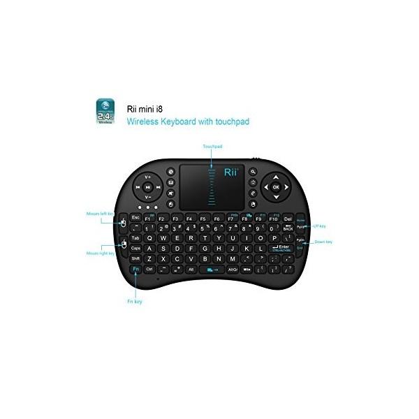 کیبورد بیسیم-2.4G mini Wireless Keyboard- کویرالکترونیک