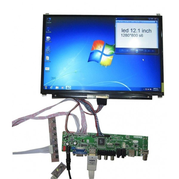 LED 12.1 inch 1280x800 با کیفیت یالا و اورجینال-کویرالکترونیک