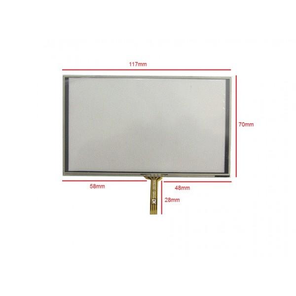 وسط فلت 5inch  Touch 5inch تاچ اسکرین 5 اینچ (کیفیت خوب)