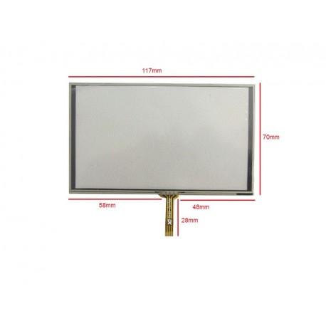 وسط فلت 5inch  Touch 5inch تاچ اسکرین 5 اینچ (کیفیت خوب)- کویرالکترونیک