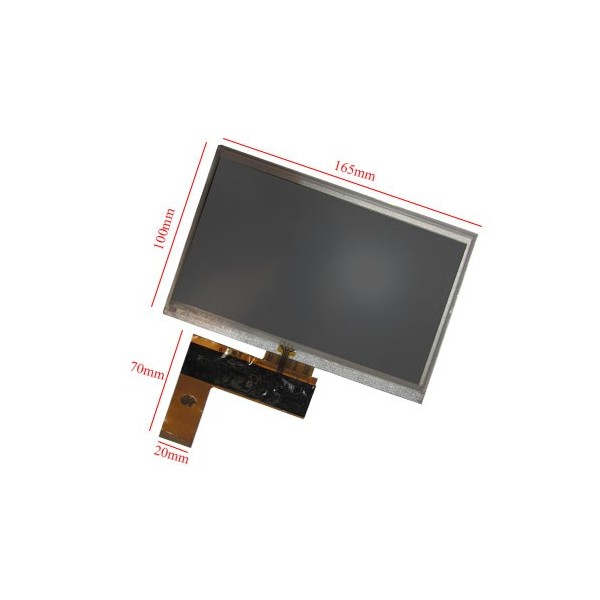 "السیدی 7""  TFT LCD Display + Touch Panel, Standard 40 PIN- کویرالکترونیک"
