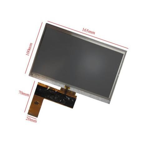 "السیدی 7""  TFT LCD Display + Touch Panel, Standard 40 PIN- کویرالکترونیک"