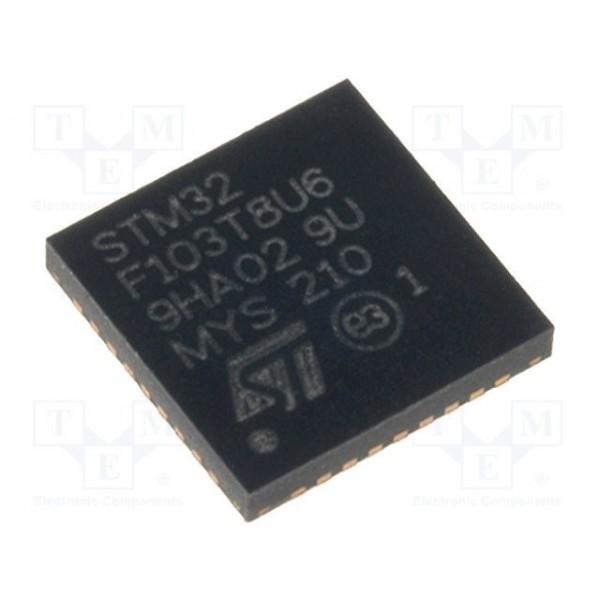 میکروکنترلر STM32F103T8U6 / اورجینال New and original+گارانتی