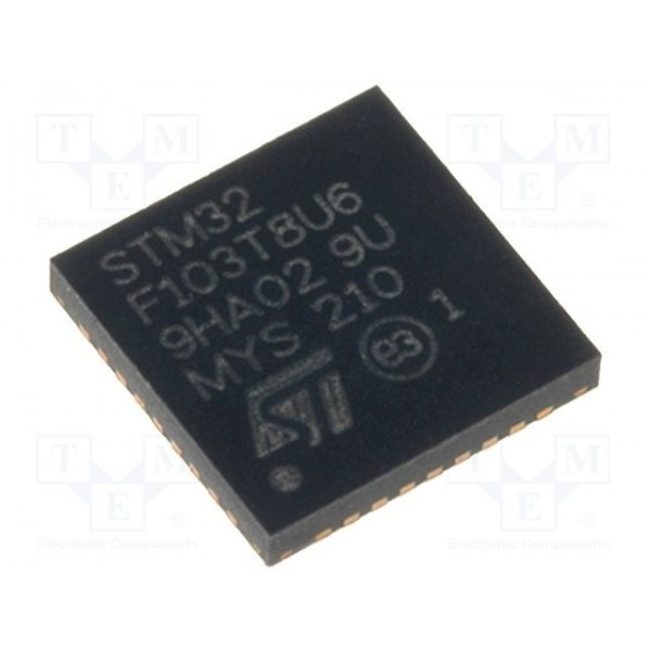 میکروکنترلر STM32F103T8U6/ اورجینال- کویرالکترونیک