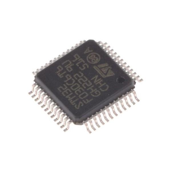 میکروکنترلر STM32F030C6T6 / اورجینال -New and original+گارانتی