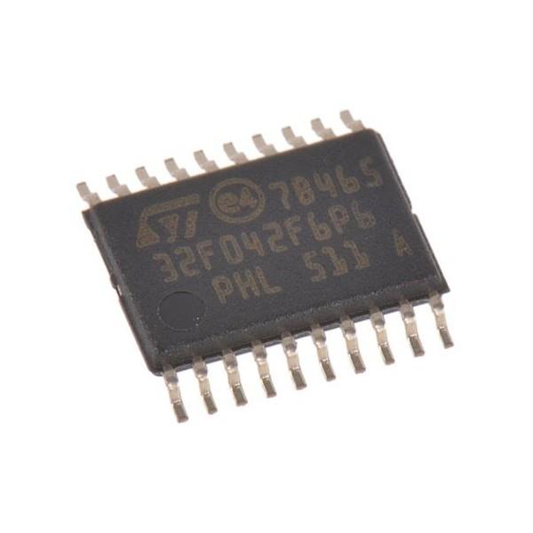 میکروکنترلر STM32F042F6P6 /اورجینال- کویرالکترونیک