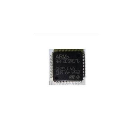 میکروکنترلرSTM32F205RET6 /اورجینال -کویرالکترونیک